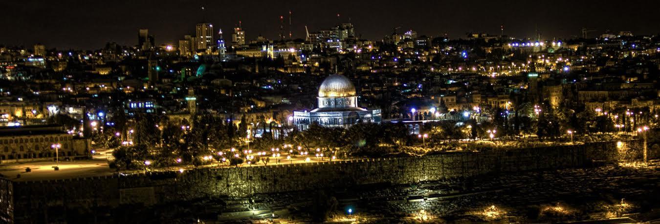 ערב גיבוש - סיור ערב בירושלים
